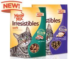 FREE Meow Mix Cat Treats