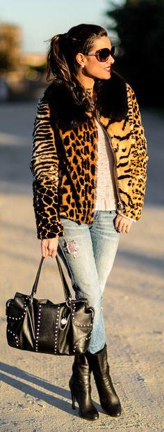 Leopard Coat / CrImenes De La Moda