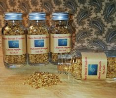 Spicy Sea Salts by The Spice Alliance on Gourmly