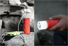 BUCKSHOT PRO Este novo produto Buckshot Pro, é um alto-falante sem fio, carga para bateria, e uma lanterna, tudo incluído no mesmo aparelho.