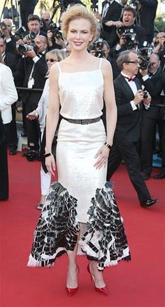 Diss: Nicole Kidman in Chanel at Cannes #HitsandDisses