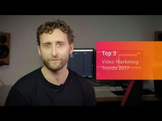 What are the key video marketing trends for 2017? Our MD, Jon Mowat, shares his top 3 predictions for video to help you create an effective marketing strategy. source