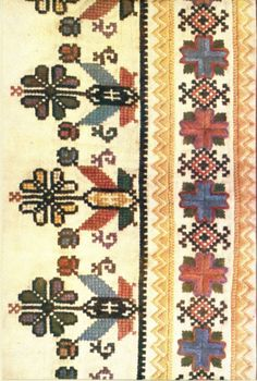 "ginara:  ""Embroidery from the region of Opoczno, Poland.  """