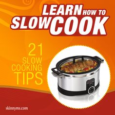 21 Slow Cooking Tips--perfect for the holiday season!  #slowcooker #tips #holidays