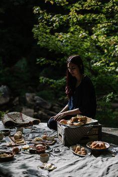 road trip: an appalachian picnic + quinoa roasted fennel & parsnip salad