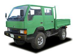 Mitsubishi Canter 4x4 w cab - 1990's - the Delica's big bro