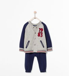 ZARA - KIDS - Bomber jacket and trouser set