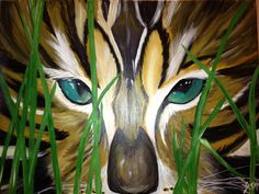 """""""Mine"""" done in acrylic 18x24 in. On stretched canvas. By Yasmin hasnain."""