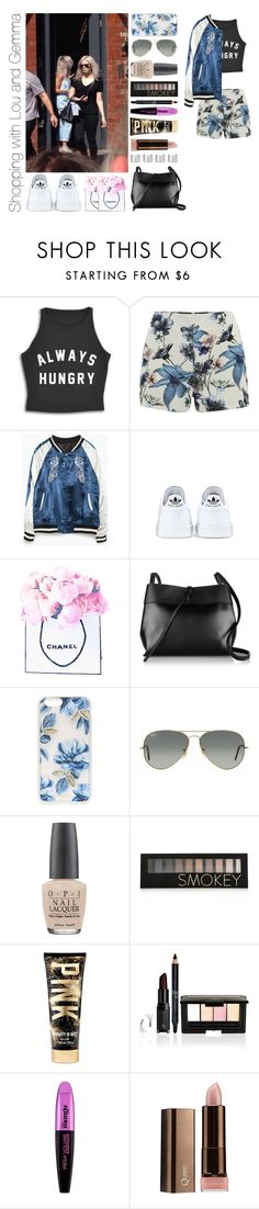 """Shopping with Lou and Gemma"" by michaelssmile ❤ liked on Polyvore featuring ONLY, Zara, adidas, Chanel, Kara, Sonix, Ray-Ban, OPI, Forever 21 and L'Oréal Paris"