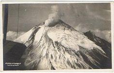 Volcán Popocatepetl en 1920 (Hugo Brehme)