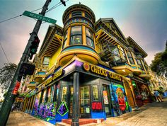 Haight-Ashbury - SAN FRANCISCO  Always been fascinated with the BEAT GENERATION, FLOWER CHILDREN, FREE LOVE & SUMMER OF LOVE :)