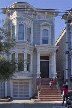San Francisco Victorian Painted Lady House Photos - Picture of house from Full House