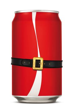 Coke Christmas Poster / Can by Ricky Richards, via Behance