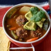 Vegan Albondigas Soup Recipe