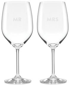 kate spade new york Darling Point Collection 2-Pc. Wine Glasses Set - Shop All Glassware & Stemware - Dining & Entertaining - Macy's