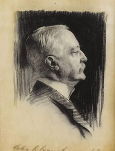 Things of beauty I like to see — Portrait drawings by John Singer Sargent,...