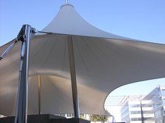 Las Mercedesr Shade Structure - Blue Wave