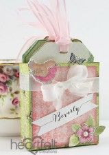 Tea Party Place Card And Tag Holder
