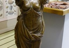 Large bronze statue of nude lady we have matching pair. Price: $1,500.00 each. http://www.theguildshop.org/bronze-statues/ M1433 01 01/23/15