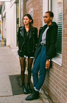 Toronto Street Fashion: Leia & Mecha