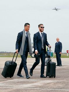 Ronaldo and Ramos - Real Madrid