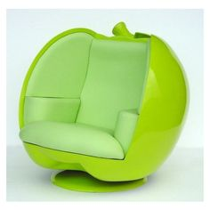 Green Apple Pod Chair ❤ liked on Polyvore featuring home, furniture, chairs, accent chairs, outside furniture, outdoor chairs, holland furniture, outside chairs and outdoor furniture