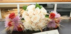 Fall - Bride and attendants bouquets