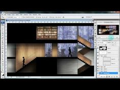 The Architectural Student: Tutorial: Learn to Create an Architectural Section Render in Photoshop