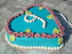 Roosjes taart