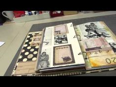 Part 2 of my junk journal made from an old binder - YouTube
