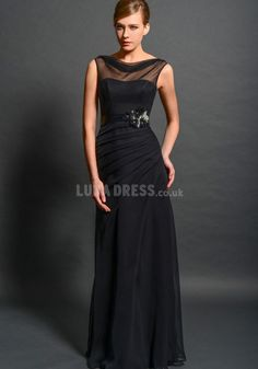 Alluring Chiffon Sheath/ Column Natural Waist V Back Mother of the Bride Dresses Mothers Dresses, Bride Dresses, Dress Link, Mother Of The Bride, Autumn Fashion, Chiffon, Formal Dresses, Sexy, Natural