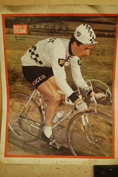Tom on the cover of Miroir Du Cyclisme,