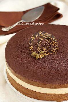 Delizia al caffè, cardamomo e vaniglia | La Cuoca Dentro