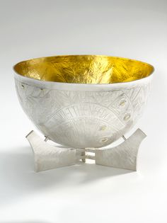 Measurements: Height Width Image © The Goldsmiths' Company. Courtesy 'Collection: The Worshipful Company of Goldsmiths'. Call For Entry, New Art, Decorative Bowls, Objects, Sterling Silver, Tableware, Image, Collection, Dinnerware