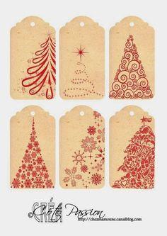 Imprimolandia: Etiquetas de Navidad                                                                                                                                                                                 Más