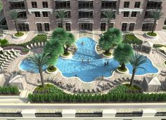 High Rise Apartments, Hotels And Resorts, Great Places, Park, Luxury, Live, Outdoor Decor, Parks