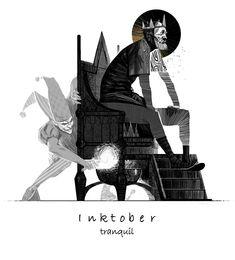 Illustrazione di #inktober