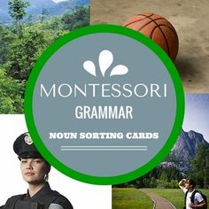 Thank you for your interest in this set of Montessori Noun Sorting cards. Perfect for an early childhood classroom with advanced 5 and 6 year olds, or for a lower elementary classroom. This set includes over twenty noun examples of people, places, and things with REAL images.