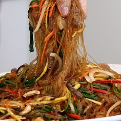 Authentic Japchae Recipe & Video - - Jump to Recipe·Print Recipe Hi guys! I've redone my Japchae, Korean Glass Noodles recipe! The original recipe created 2012 so it's been over 7 years! I'm still making my…. Beef Recipes, Cooking Recipes, Oven Cooking, Cooking Utensils, Cooking Tools, Beef Ramen Noodle Recipes, Healthy Korean Recipes, Vegan Korean Food, Vegetarian Recipes