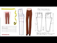 Aprende como hacer Panti estilo Victoria Secret Paso a Paso - Curso de costura Barbie, Sewing Basics, Jeans, Victoria Secret, Pajama Pants, Singer, Couture, Shorts, Womens Fashion