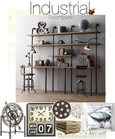 Inspiration File: Industrial Steampunk