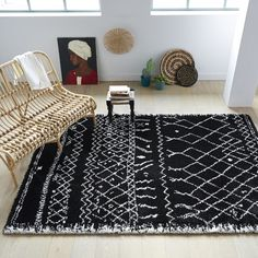 Black and White Rug – Mad About The House