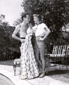 Humphrey Bogart, Lauren Bacall, 1940s