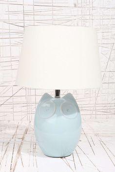 Lampe Hector le hibou - Bleu - Prise britannique