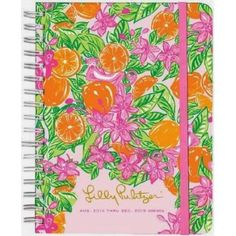 Lilly Pulitzer 2014-2015 Agenda Book LARGE GIitter In Her Hair