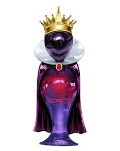 Disney Villain Perfume Bottle Designs