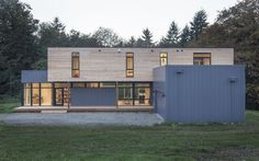 cedar clad prefab house by method homes