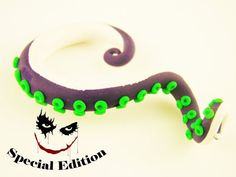 The Joker Batman Inspired Octopus Tentacle by HipsterOctopus, $25.00