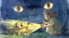 The Best Hiyao Miyazaki short about Mei and Catbus based on My Neighbor Totoro Illustration, Studio Ghibli Art, Pretty Drawings, Animation, Art, Anime, Anime Movies