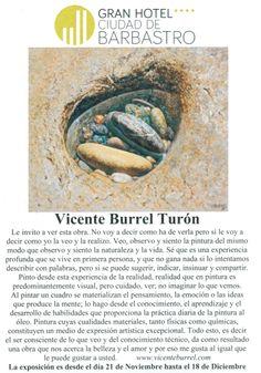 Exposición de Vicente Burrel